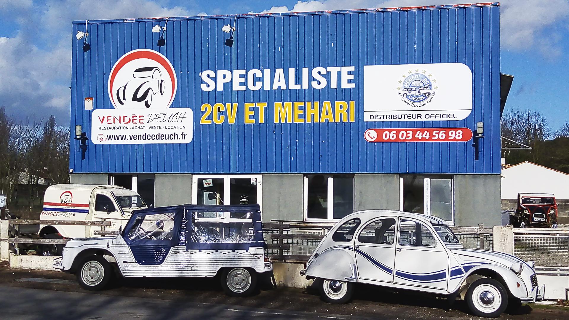 Vendée Deuch Spécialiste 2cv Et Méhari